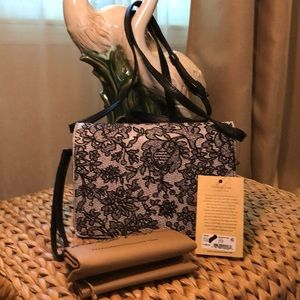 Patricia Nash Lanza Chantilly Leather Bag